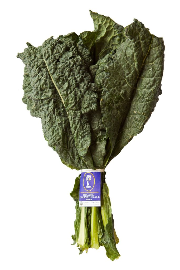 Organic Lacinato kale from Lady Moon Farms