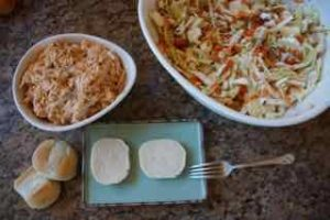 Chicken Sliders With Cole Slaw 9