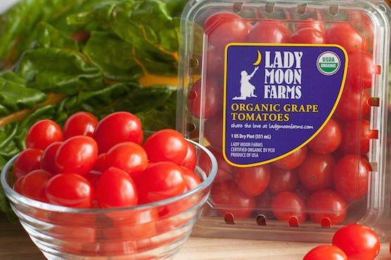Tomatoes from Lady Moon Farms