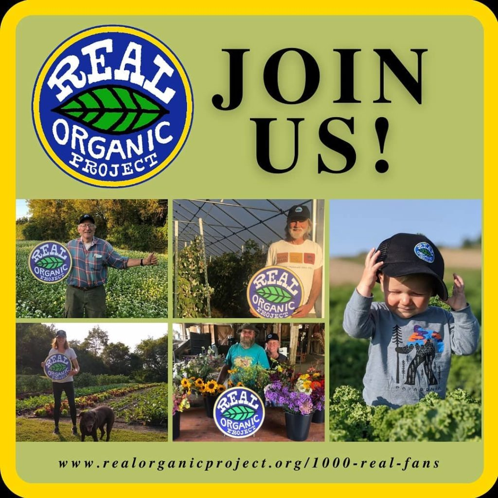 Real Organic Project Join Us